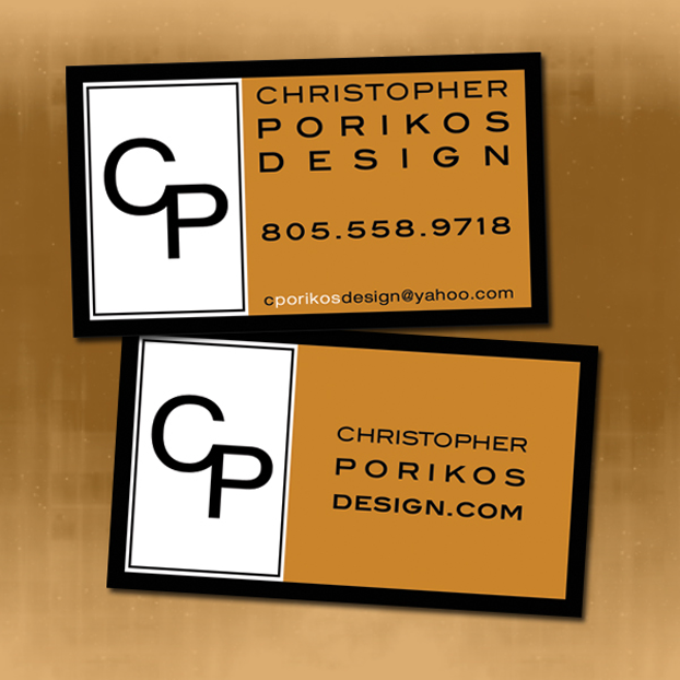 Business Card Design for Interior Decorator